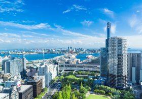 神戸ベイエリアの風景